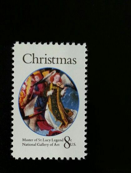 1972 8c Christmas Angels, Master of St. Lucy Legend Sco