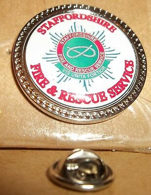 Cornwall Fire and Rescue Service Lapel pin badge