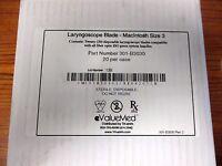 Laryngoscope Blade By Tri-anim Macintosh Size 3 (case Of 20)