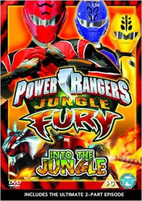 Power Rangers Jungle Fury Vol 1 Into the Jungle DVD UK Rele Brand New Sealed R2
