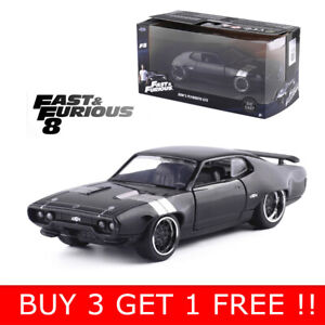 JADA-1-32-FAST-amp-FURIOUS-DOM-039-S-PLYMOUTH-GTX-DIECAST-MODEL-CAR-COLLECTION-VEHICLE