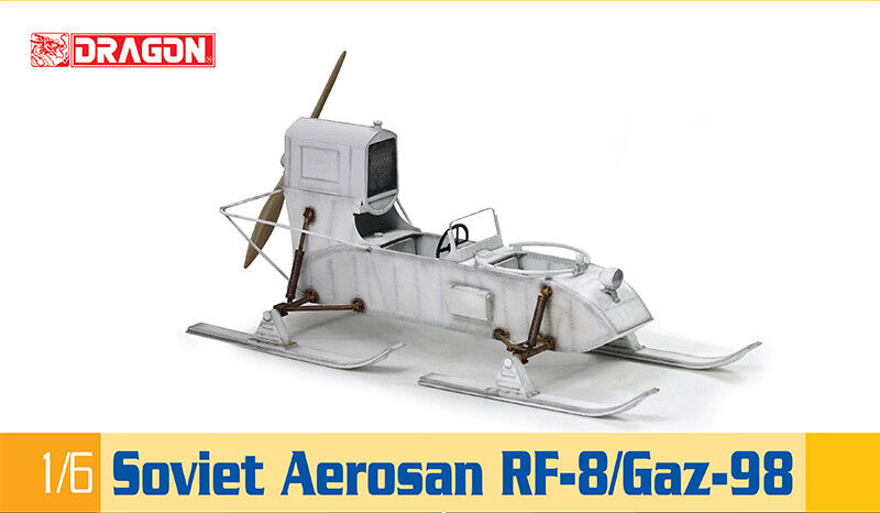 Dragon Models USA 75044 1 6 Soviet Aepinkn Rf-8 Gaz-98