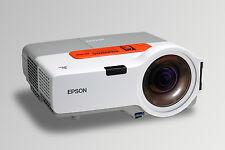 EPSON HOME CINEMA HDMI ULTRA SHORT THROW PROJECTOR  NEW 4000 HR LAMP 16:10