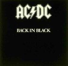 Ac/dc Back in Black 180g Remastered Embossed Sleeve ACDC Vinyl LP