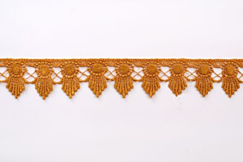 """1.75/"""" Green Blue Black Lilac Pink Navy Gray Red Gold Venice Guipure Lace Trim"""