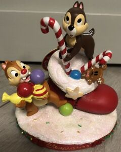 Figurine Noel Tic Et Tac Christmas Chip Dale Exclusive