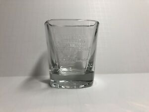 Details about Jack Daniels Old No.7 Whiskey Glass Embossed Quote We'll Make  It The Best We Can