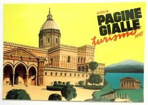 Cartolina Pagine Gialle Turismo 1990 - Sicilia | eBay