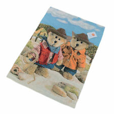 Boyds Bears Western Cowboy /& Cowgirl On The Range Tapestry Wall Hanging