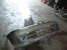 RENAULT CLIO 2004  5DR 1.5 DCI FRONT BARE BUMPER IN GREEN PAINT CODE NV903