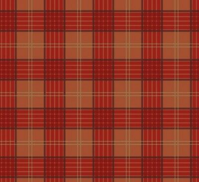 Lewis /& Irene /'Celtic Coorie/' Red Thistle 100/% cotton