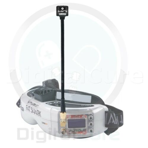Mini Long 150mm Lollipop 5.8G 2.8dBi RHCP Antenna SMA RPSMA for FPV Goggles