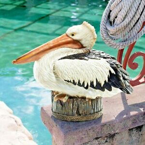Miniature Fairy Garden Pelican on Pier