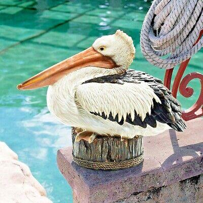 Pelican Statue Coastal Decor Outdoor Garden Dock of The ...