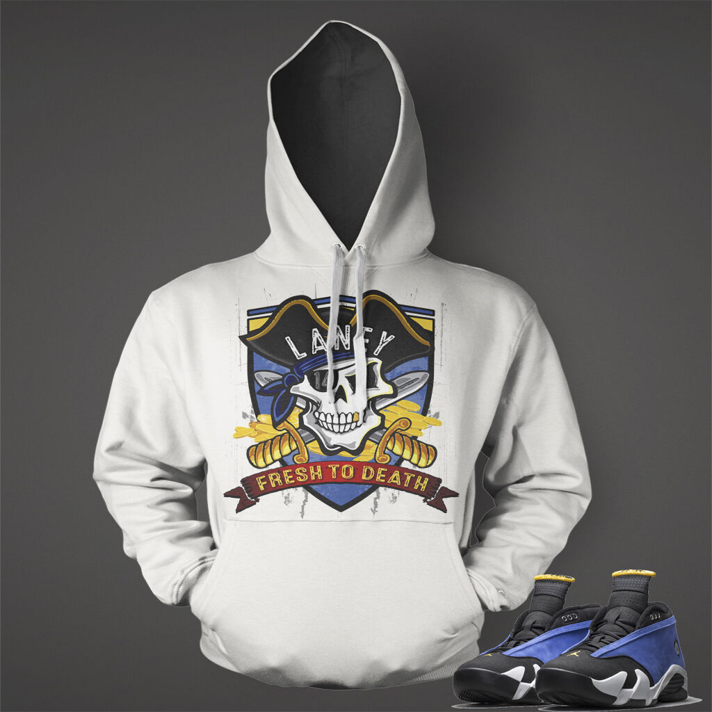 Hoodie to Match  Air Jordan 14 Low Retro Laney SNEAKERS Men Graphic Pull Over