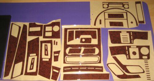 Cockpitdekor für MERCEDES SPRINTER W906 und VW CRAFTER Wurzelholz Look 50 tlg