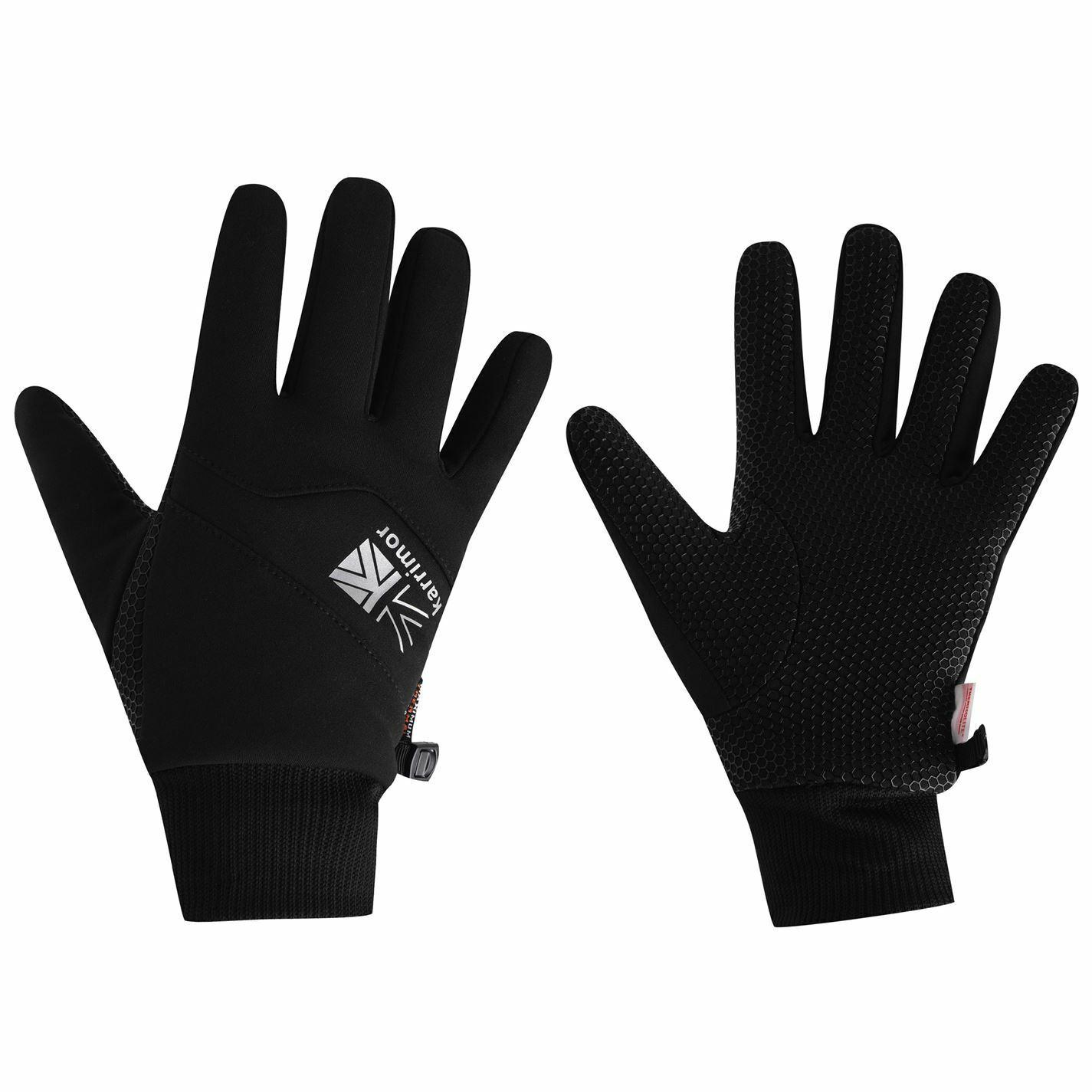 Karrimor Mens Gloves Walking Running Silicone Grip Pattern Winter Accessory