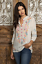 Beautiful-JOHNNY-WAS-Embroidered-BETHANIE-Button-Neck-Tunic-Pink-S-278 thumbnail 11