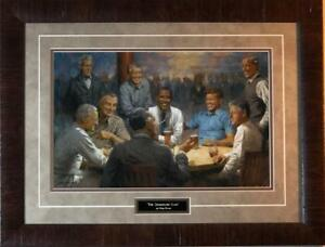 Andy Thomas The Democratic Club Political Signed Art Print