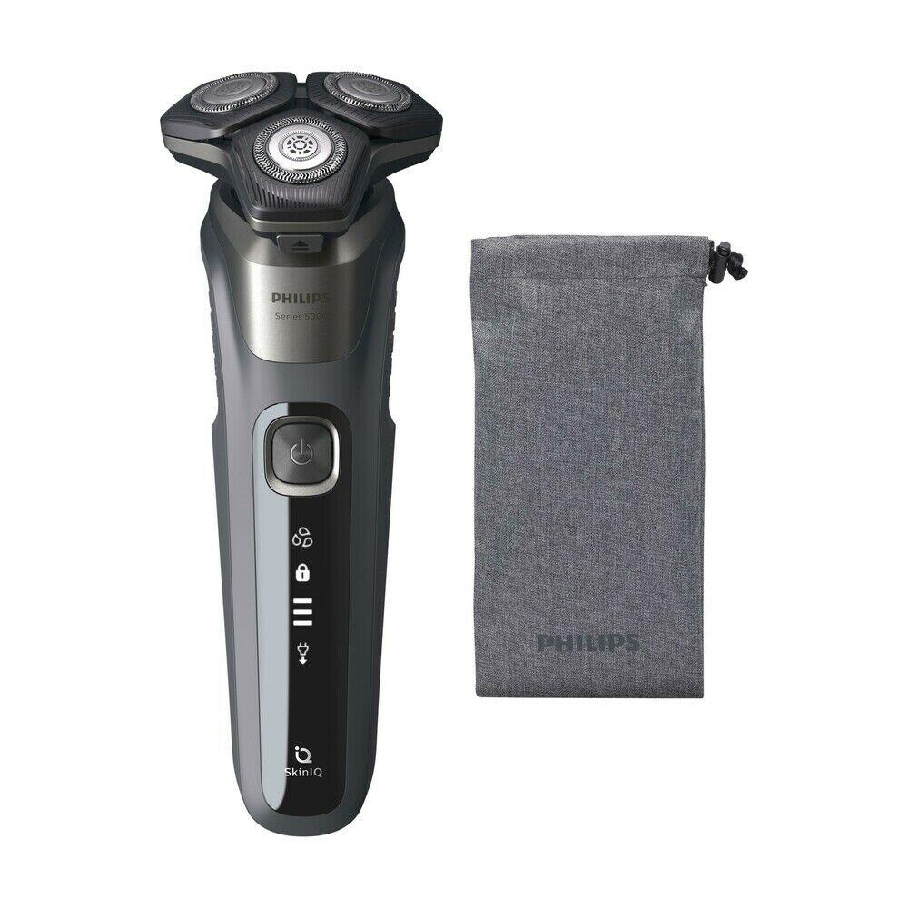 PHILIPS Herrenrasierer Series 5000 S558710 (LED-Display, nass-trocken, SkinIQ)
