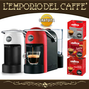 Macchina-da-Caffe-LAVAZZA-JOLIE-A-Modo-Mio-con-36-Capsule-in-Omaggio-a-scelta