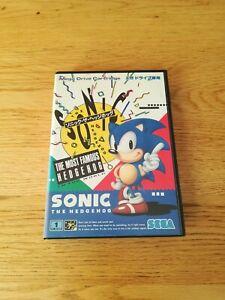 Sonic the Hedgehog Mega Drive Cartridge 1991 with Japanese ...