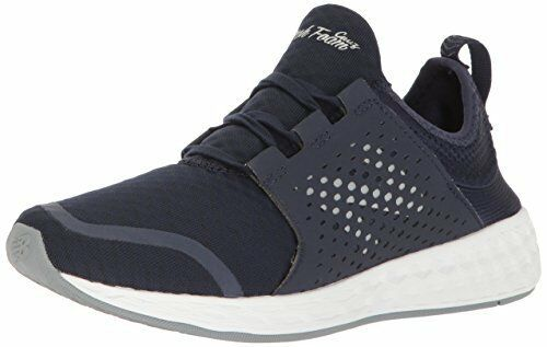 New Balance Men's Fresh Foam Cruz, Pigment White, 9 D(M) US