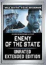 Enemy of the State (Extended Edition) [DVD], Very Good DVD, Gene Hackman, Will S