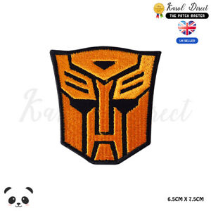 Transformer-Super-Hero-Movie-Embroidered-Iron-On-Sew-On-Patch-Badge