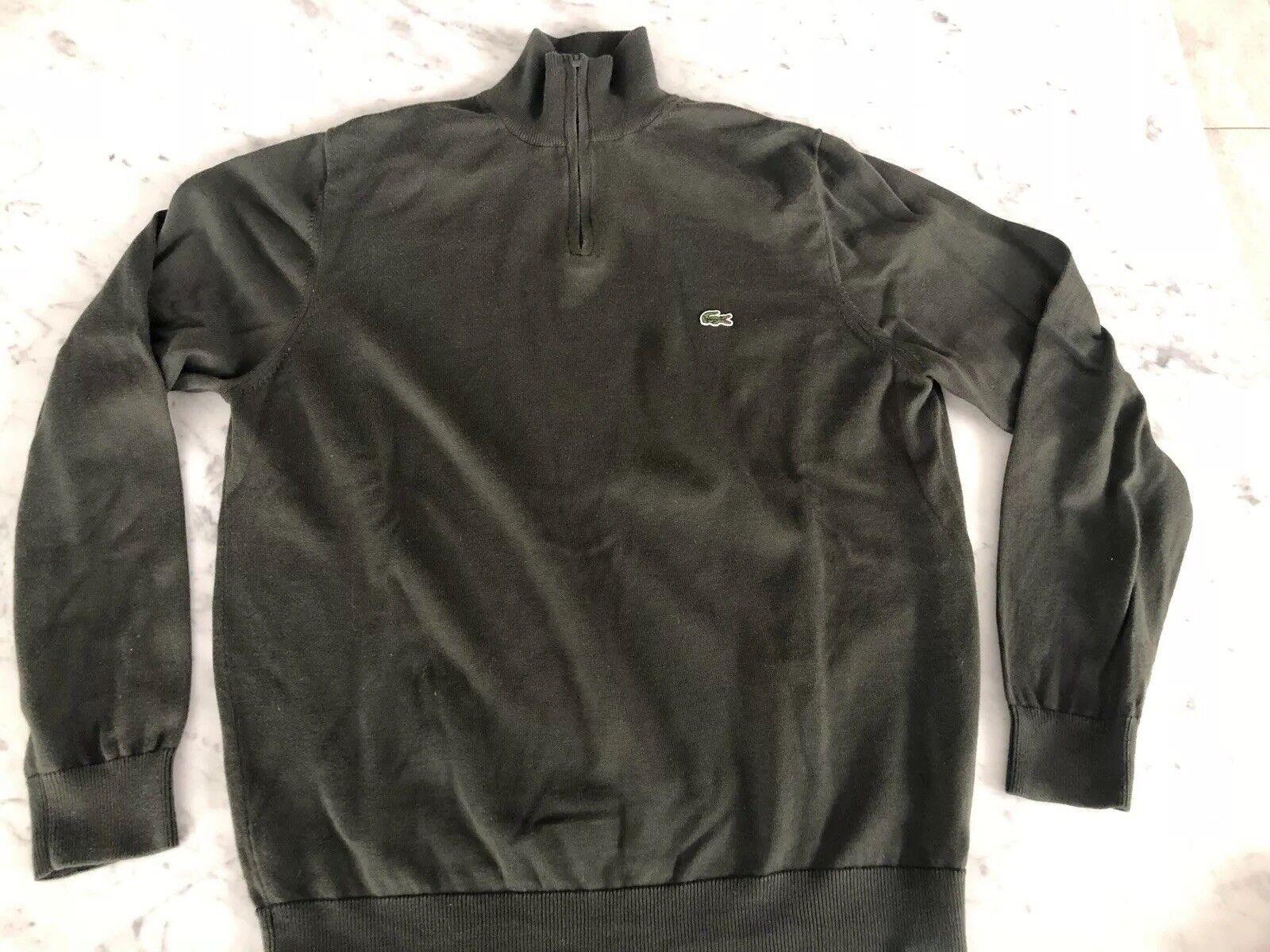 Lacoste Mens Sweater. Size (6) L