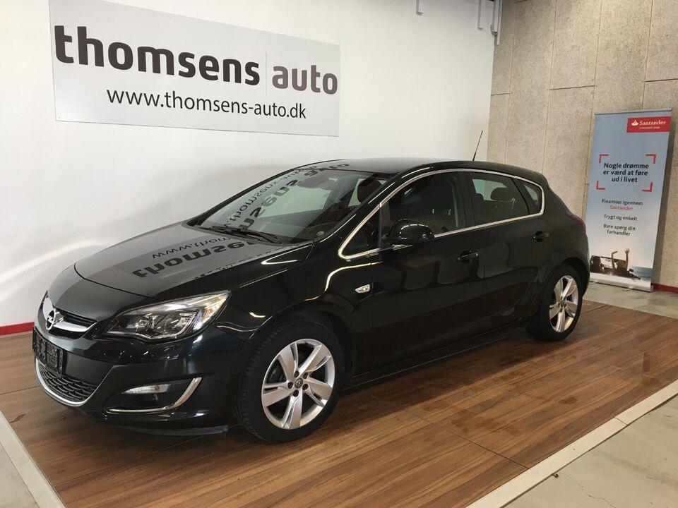 Opel Astra 1,4 T 140 Sport Benzin modelår 2014 km 118000