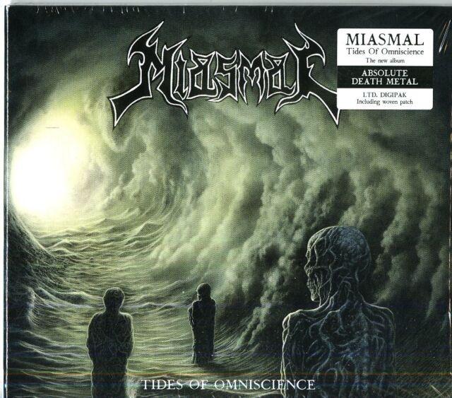 MIASMAL TIDES OF OMNISCIENCE CD DIGIPACK NUOVO SIGILLATO !!