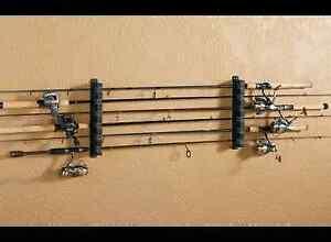 Fishing Rod Pole Storage Rack Holder Rest Rv Boat Garage