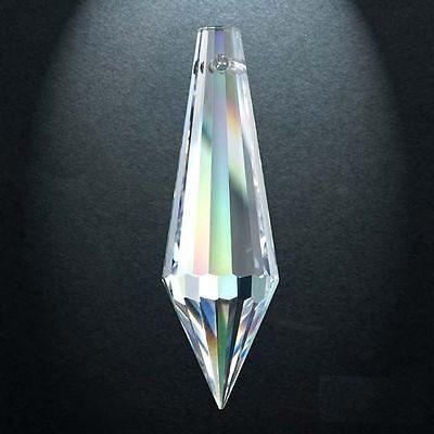5 Puntale 432 Mm.20x11 Cristallo Asfour Pendente Per Lampadario 30% Pb Ricambio Apariencia Atractiva