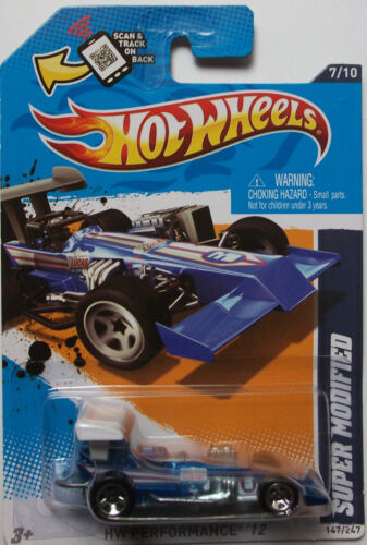 2012 Hot Wheels Super Modified Col #147 Blue Version