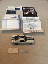 RARE Franklin Mint 1:24 1965 Mustang Shelby GT350 With Paperwork And Plate!