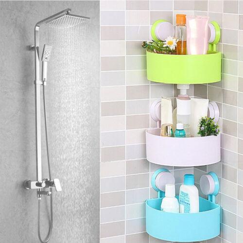 Bathroom Corner Storage Holder Shower Gel Rack Shelf Shampoo Organiser Basket