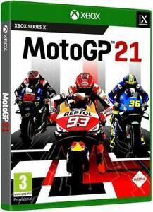 MOTO GP 21 XBOX SERIE X / S VIDEOGIOCO UFFICIALE 2021 ITALIANO MOTOGP NUOVO