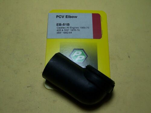 CADILLAC ALL ENGINES 1968-75; 425 /& 500 1976-79 368 1982-84 PCV SYSTEM ELBOW