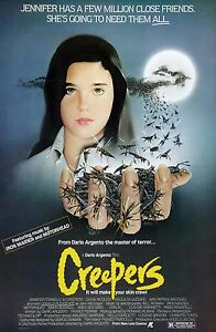 034-Creepers-034-Connelly-CLASSICO-1985-HORROR-POSTER-DEL-FILM-MISURE-A1-A2-A3-A4