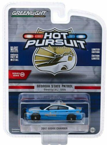 2017 Dodge Charger POLICE Georgia State Patrol USA*** Greenlight 1:64 NEU