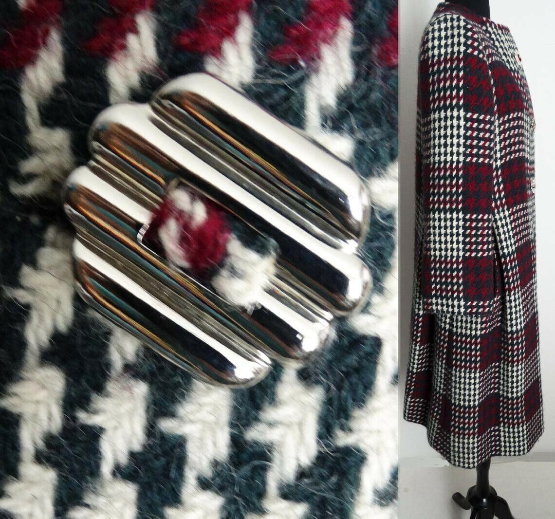 Vintage Pauline Trigere Coat   Designer Coat   Wi… - image 2