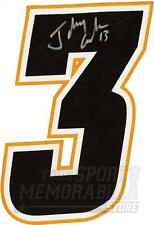 Johnny Gaudreau Calgary Flames Signed Autographed Home Jersey Number