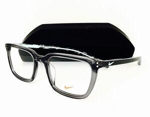 7cd85baa96 New NIKE Eyeglasses 37 KD 065 Matte Tumbled Grey Green Glow 52•20 ...
