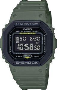 Casio-G-Shock-DW5610SU-3-Digital-Square-Army-Green-Resin-Watch