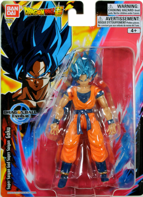 "Bandai Dragon Ball Super Evolve Super Saiyan Blue Son Goku 5"" Action Figure"
