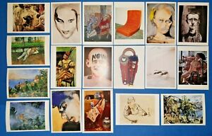 Collection-of-18-Different-New-Art-Postcards-PC18