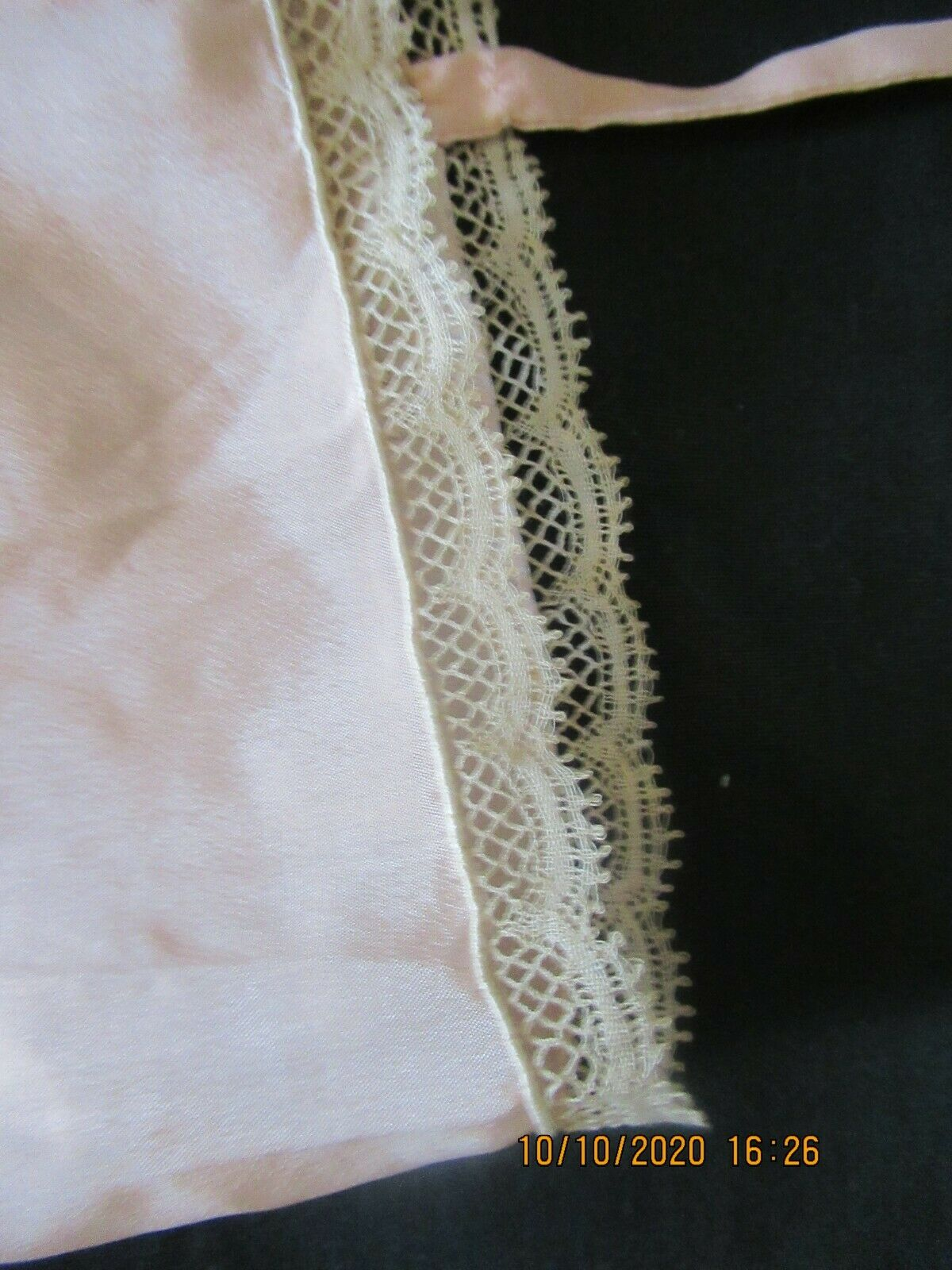 Antique Edwardian Camisole Teddy Embroidered Lace  - image 5