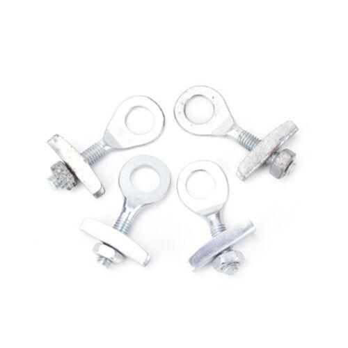 4 stücke Fahrrad Kettenspanner Einsteller Für Fixed Gear Single Speed Track W0