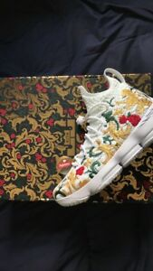 new concept f216d 36698 Details about Nike Lebron 15 Performance x KITH Kings Cloak White Floral  Size 11 Worn For 1 Hr
